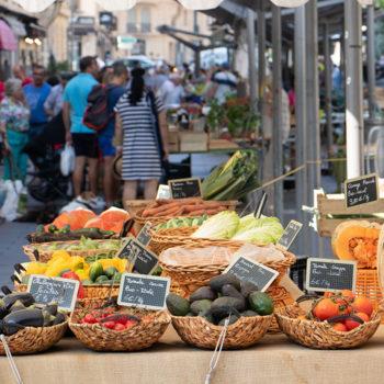 Fruits et légumes forment une palette haute en couleurs