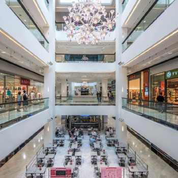 Grands magasins, centres commerciaux