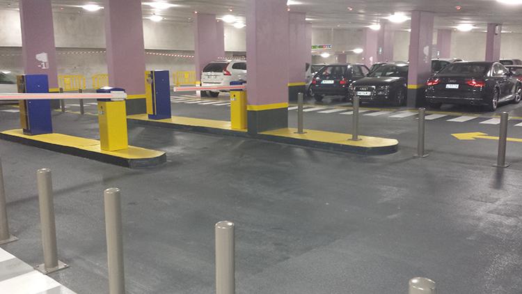 Le stationnement en parkings