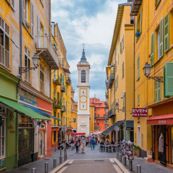 Vieux Nice's craft shop and trendy boutiques