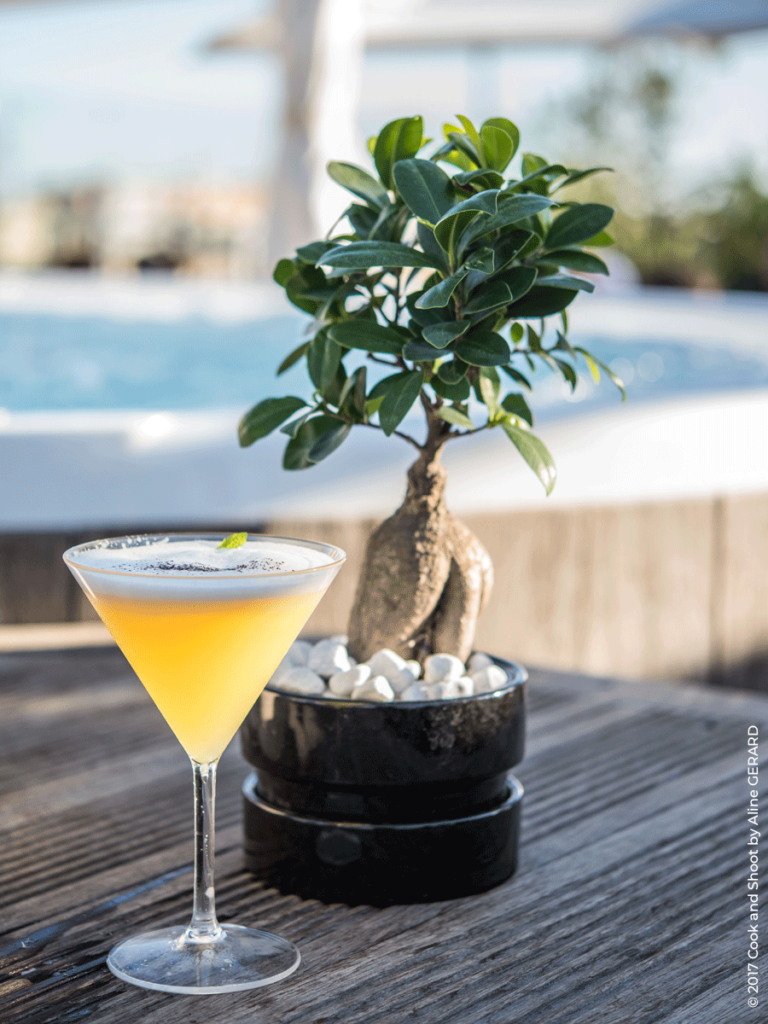 Cocktail du rooftop Monsigny