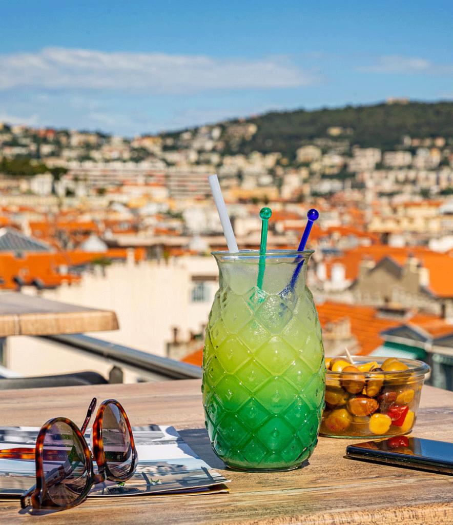 cocktail du Skylounge rooftop à Nice