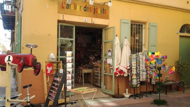 Boutique L'Atelier des jouets à Nice