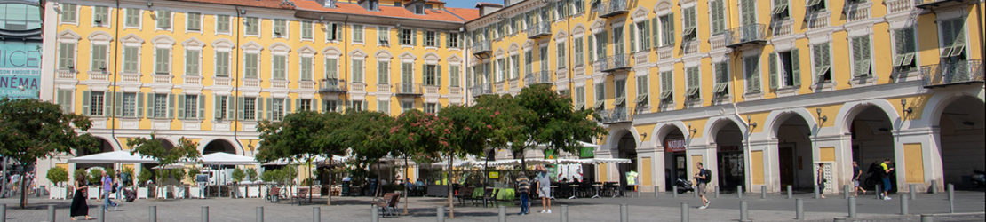 La place Garibaldi à Nice
