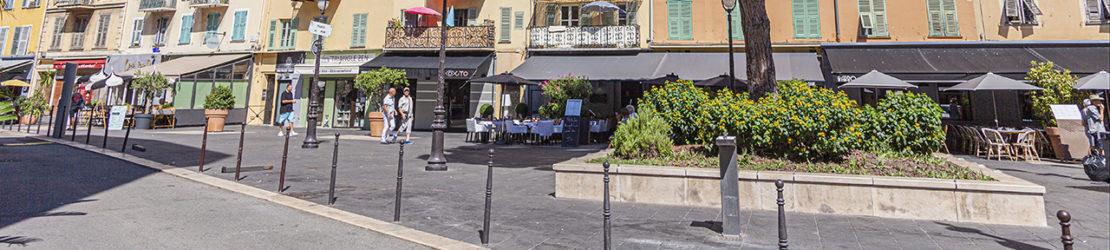 La place du Pin à Nice