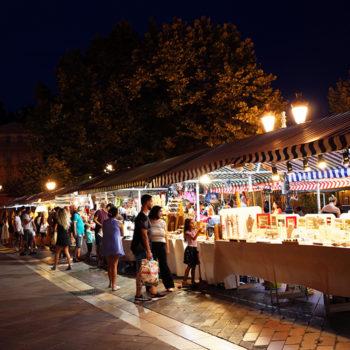 Le cours Saleya de nuit