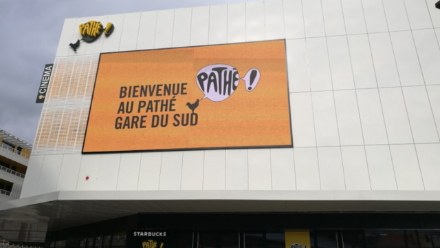 Pathe cinema Gare du Sud