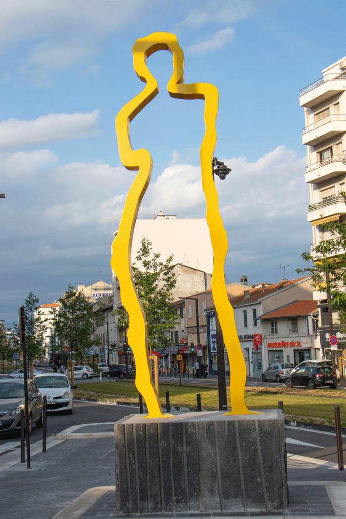 Statue Hommage à Venus à Carras