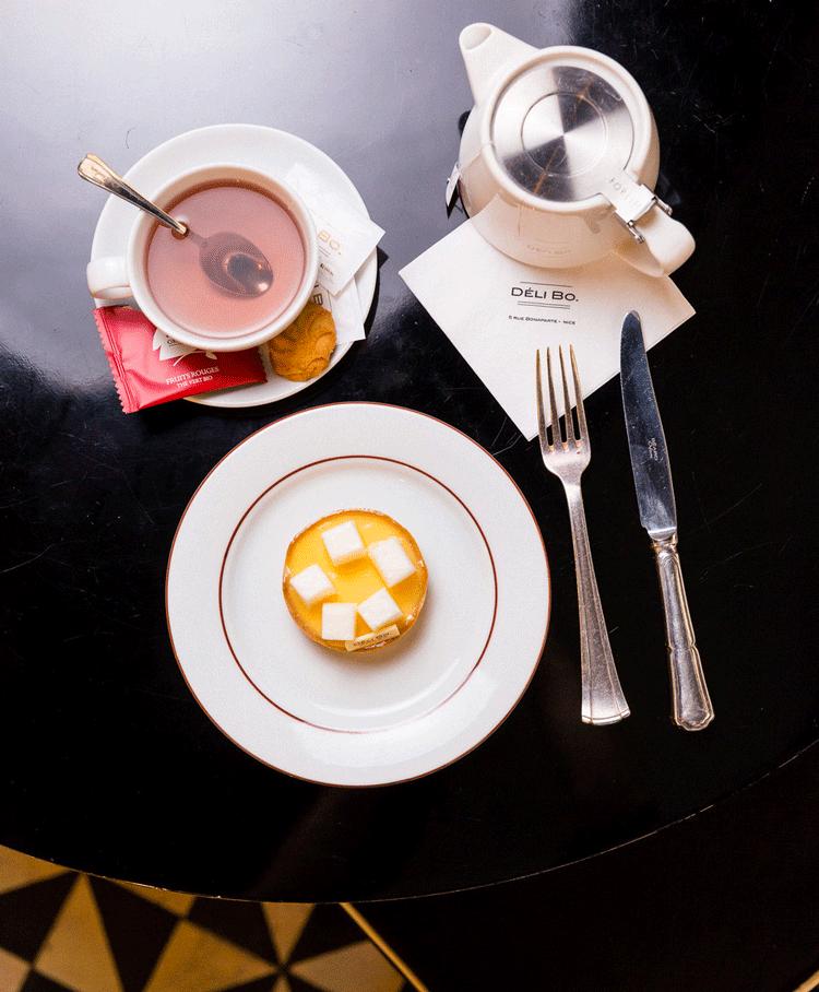 Thé à Déli Bo Nice