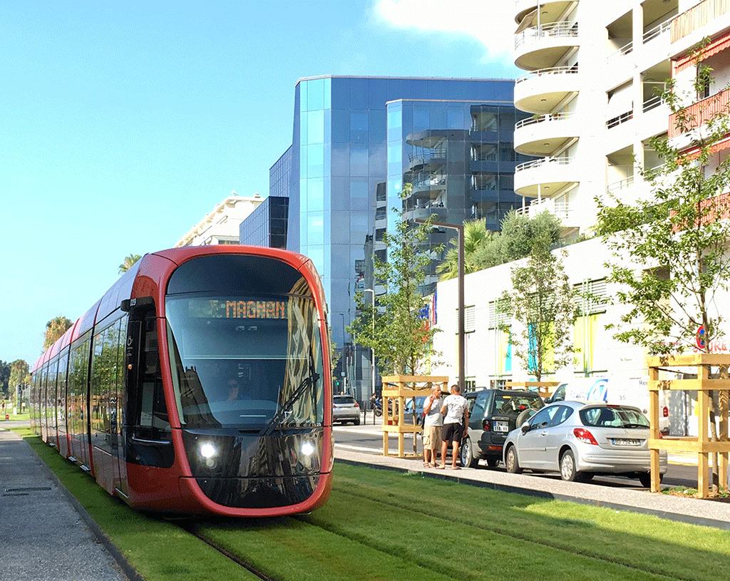Tramway Ligne 2 Californie à Nice
