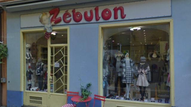 boutique Zébulon à Nice