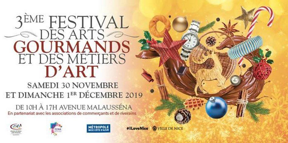 festival des arts gourmands et des métiers d'art à nice