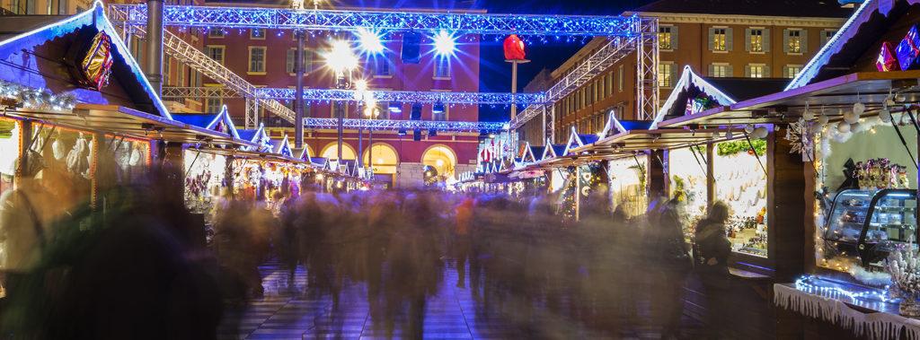Marché de Noël à Nice