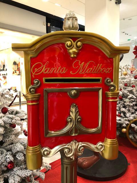 Boîte aux lettres du Père Noël à NICETOILE