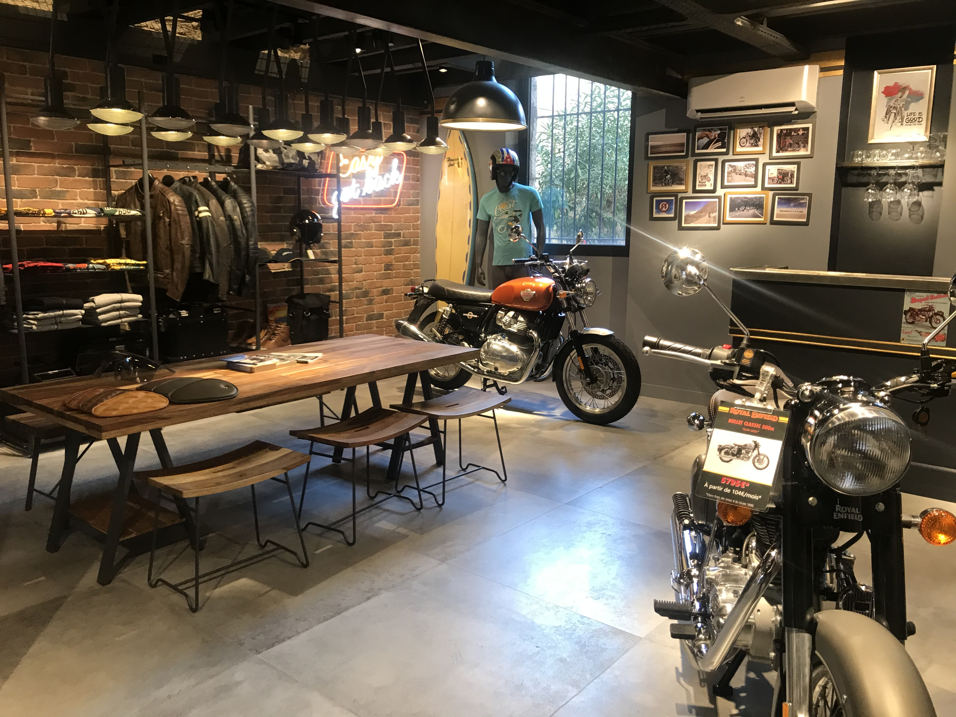 Royal Enfield Nice Concept Store