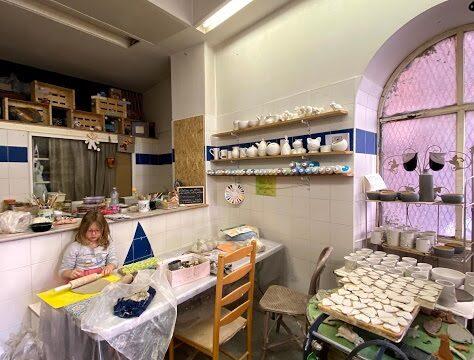 Atelier-boutique de céramique à Nice