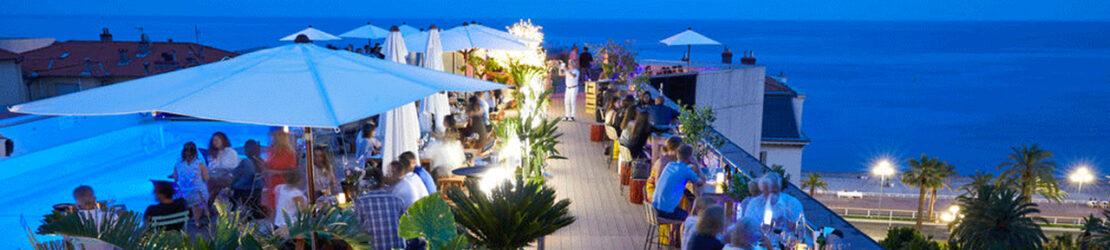 Découvrez les meilleurs rooftops de Nice