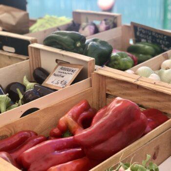 Des fruits et légumes de producteurs locaux